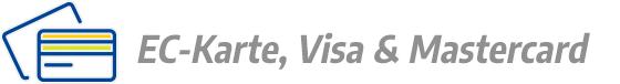 EC-Karte, Visa & Mastercard